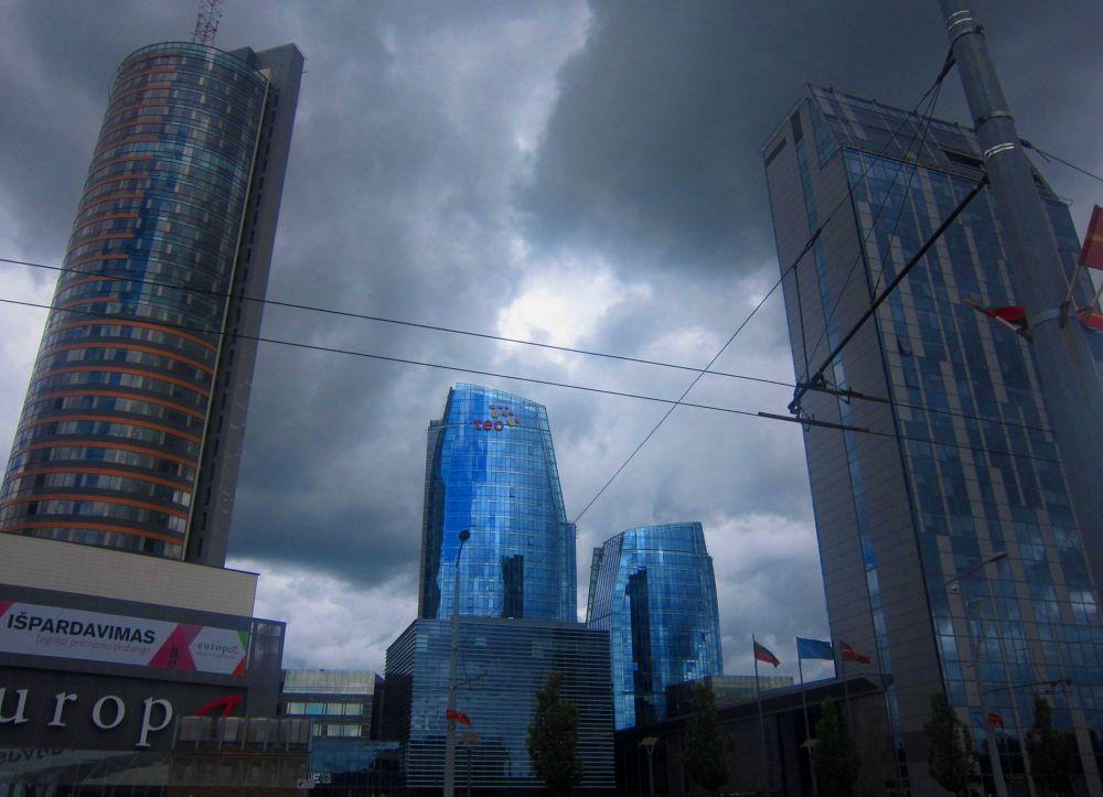 City by Simona Bakševičiūtė
