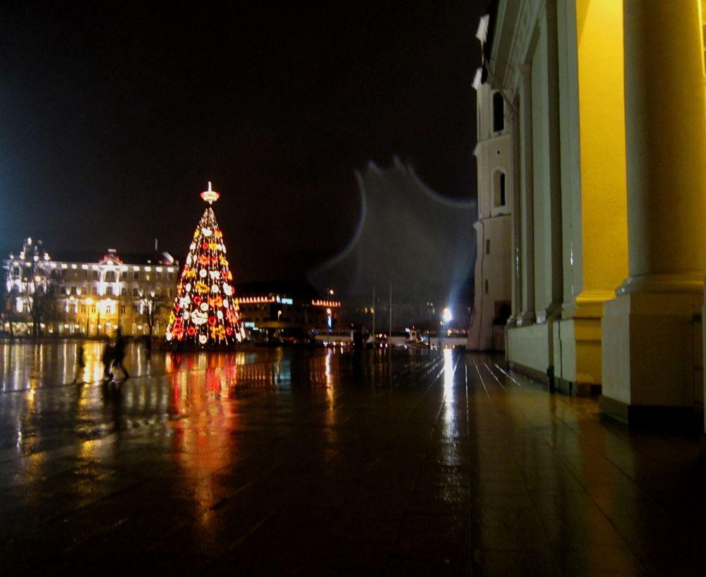 Festive City by Simona Bakševičiūtė