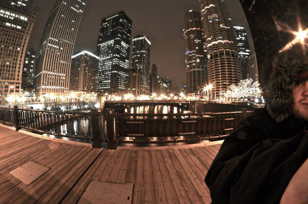 Part of me in Chicago by David Thornell