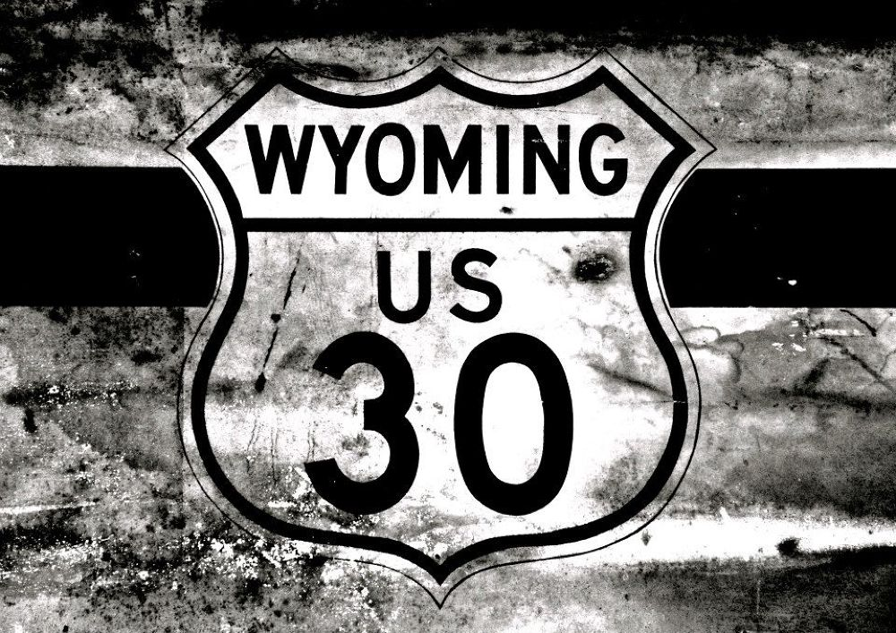 Wyoming US 30 by David Thornell