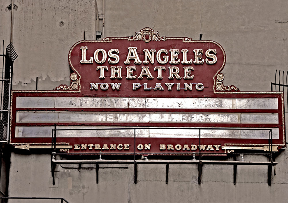 Los Angeles Theatre  by David Thornell