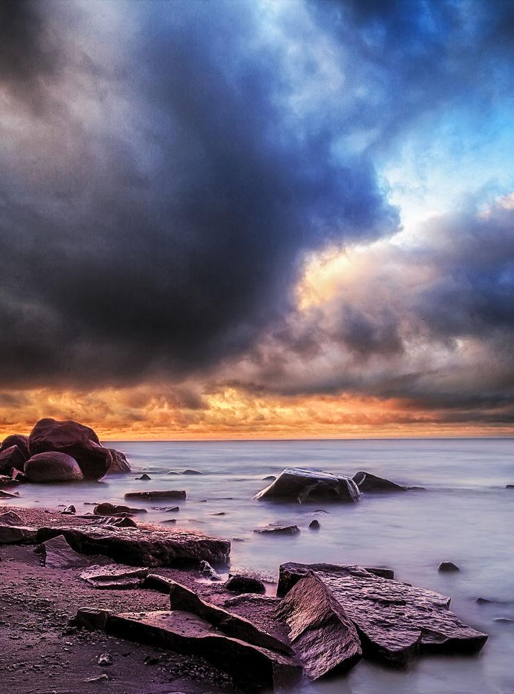 Beachside Morning Cloud by Sushmita_Photography