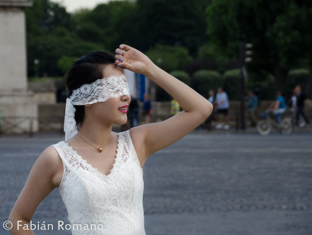 Blind bride by fabianffoto