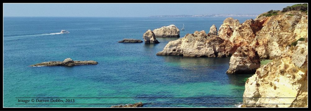 Algarve coast by darrendobbsphoto