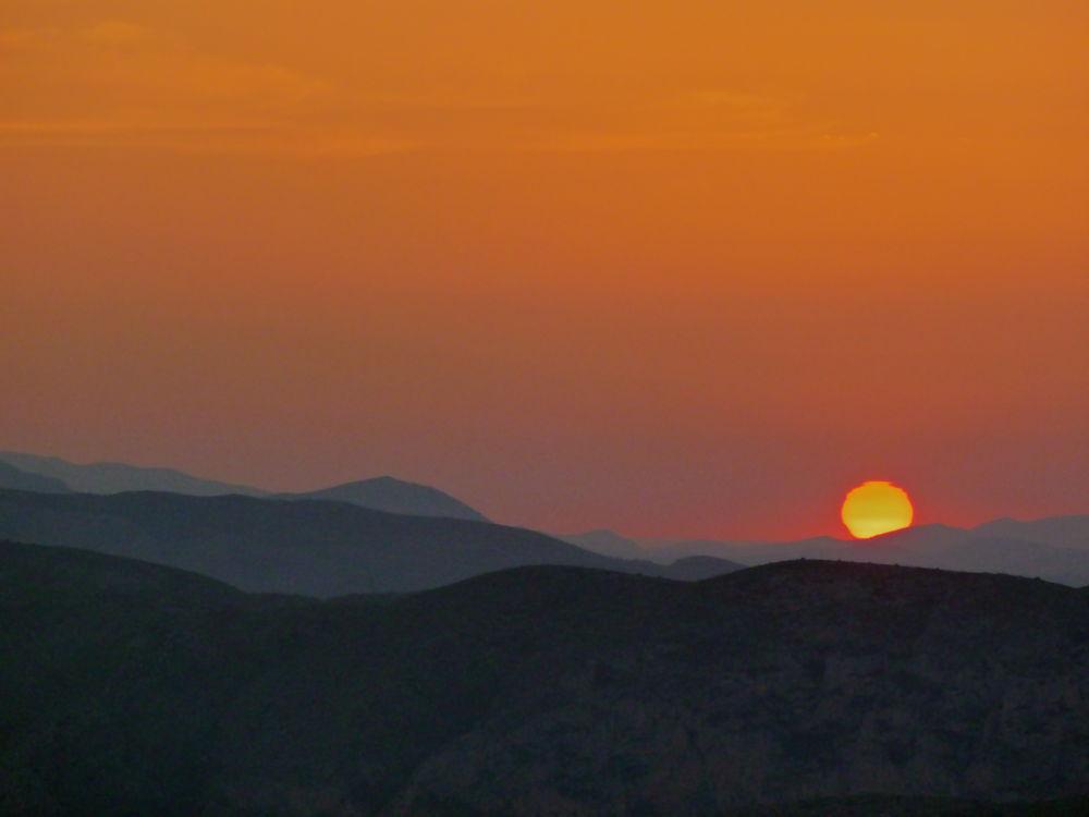 Sunset in Benitatxell - Alicate, Spain. by twogeckos