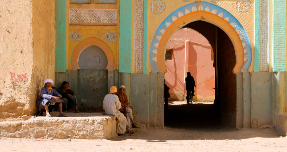 Sifa, a small town in the south or Morocco. by twogeckos