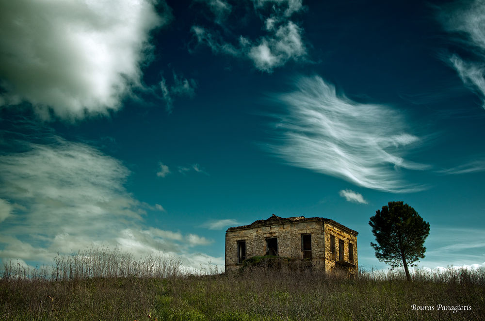 The old house... by Bouras Panagiotis