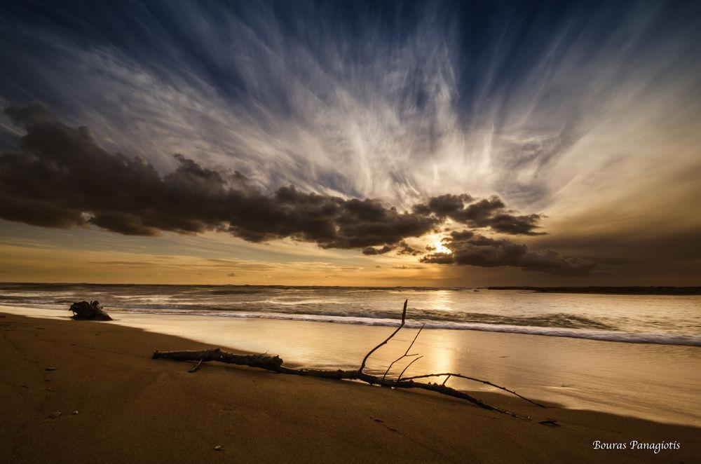 The Sunset... by Bouras Panagiotis