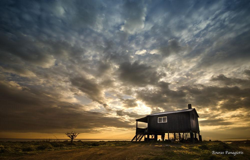 The fisherman house... by Bouras Panagiotis