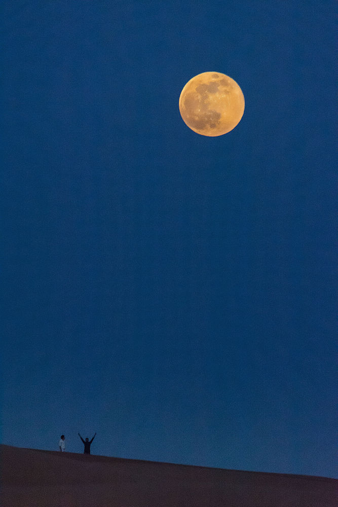 The Super Moon  by Babar Swaleheen