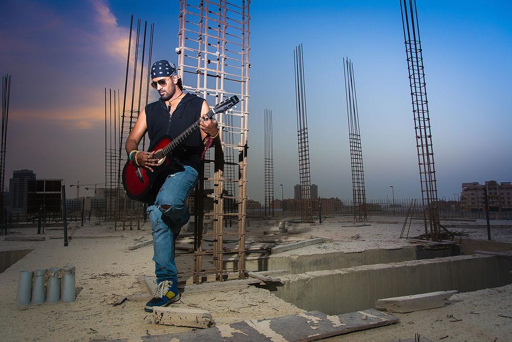Photo in Fashion #nikon #d7100 #building #construction #incomplete #guitar #sunset #cls #flash #light #strobist