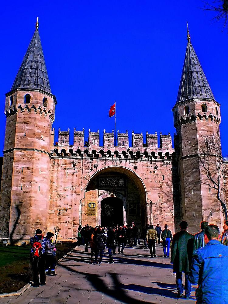 Topkapi palace-sultanahmet-istanbul-turkey by atak1