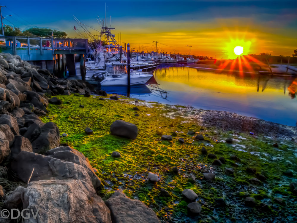 Sunset@ Rock Harbor Cape Cod by dgvarch
