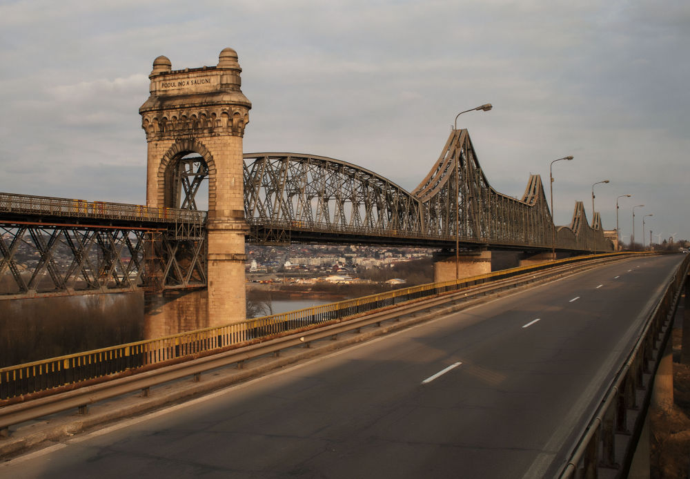 Anghel Saligny bridge by manailateodora