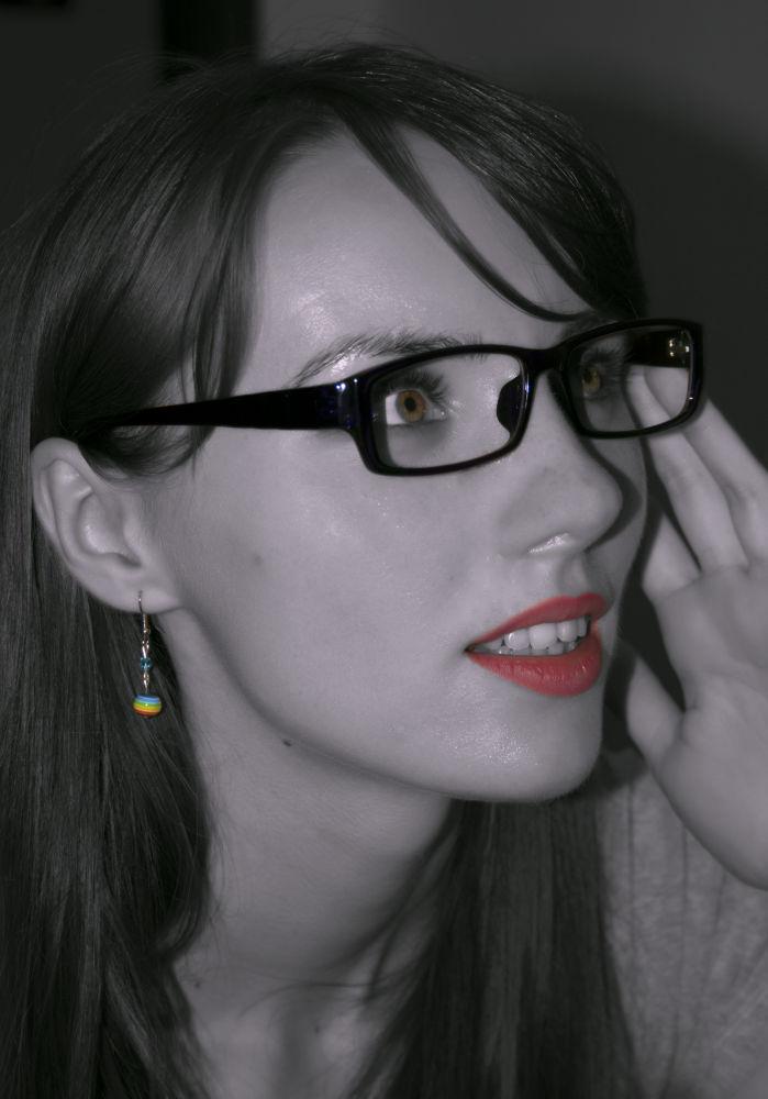 My beautiful coleague, Ioana by manailateodora