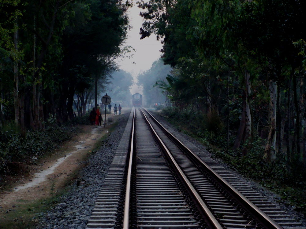From the Rail road by Shahriar Ahmed Tusher