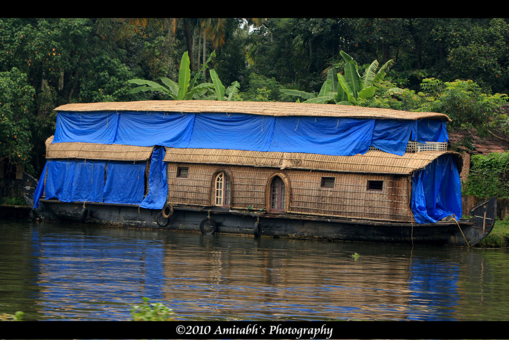 House on Water (HouseBoat) by Amitabh Photography