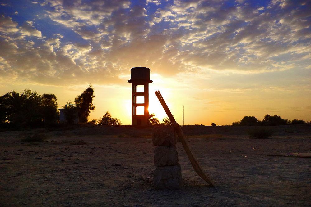 sunset by shakeelbaloch56