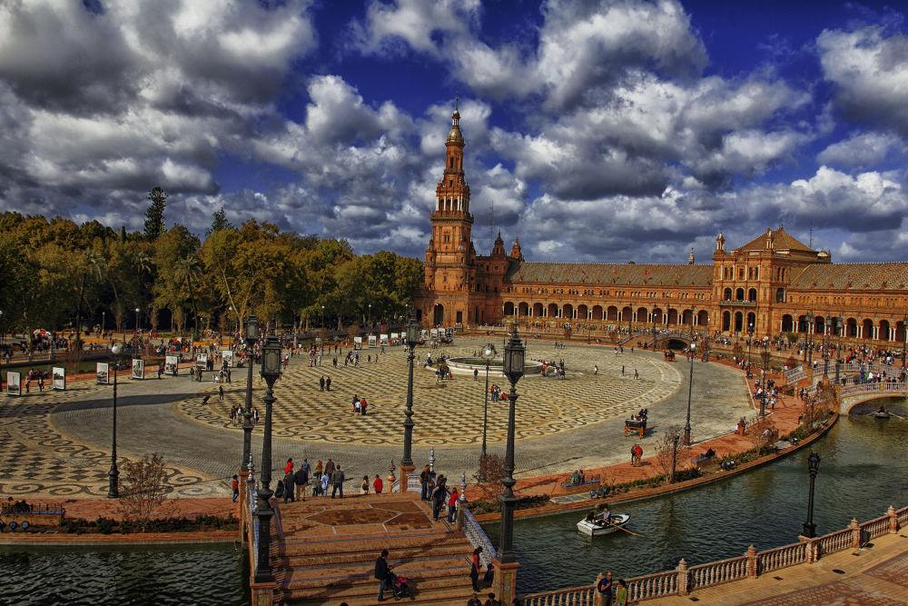 Plaza de España,Sevilla by lolacamachotroyano