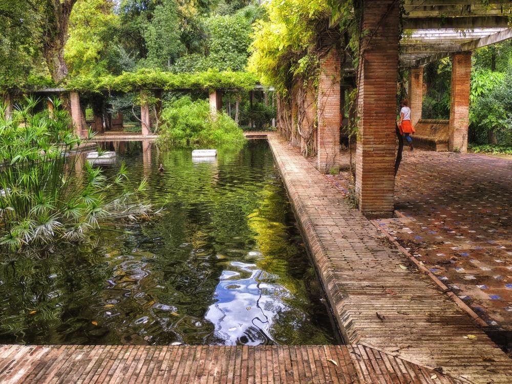 El estanque de las pergolas by lolacamachotroyano