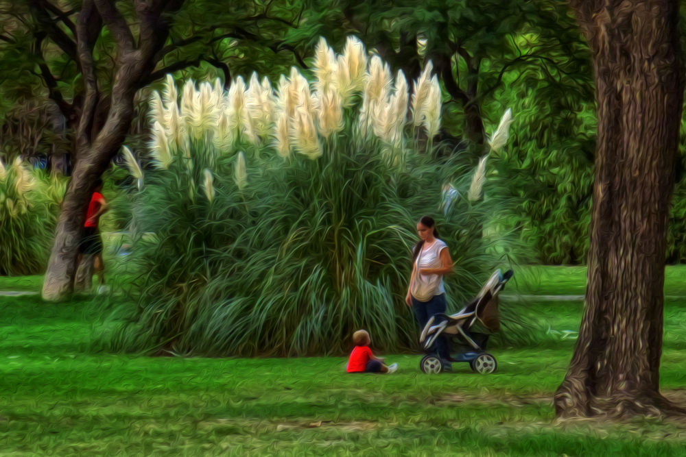 El parque,su gentes by lolacamachotroyano