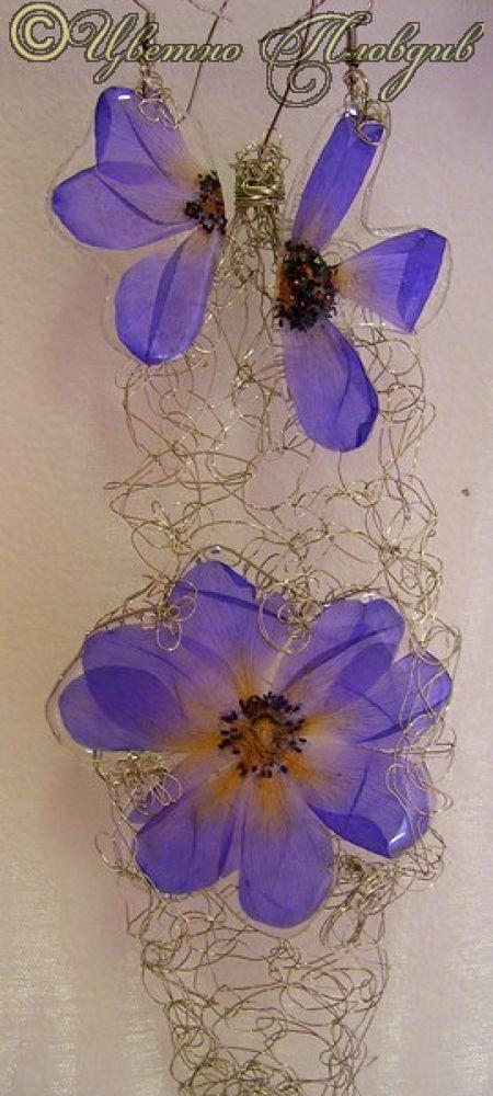 set  by real flowers by CvetnoPlovdiv