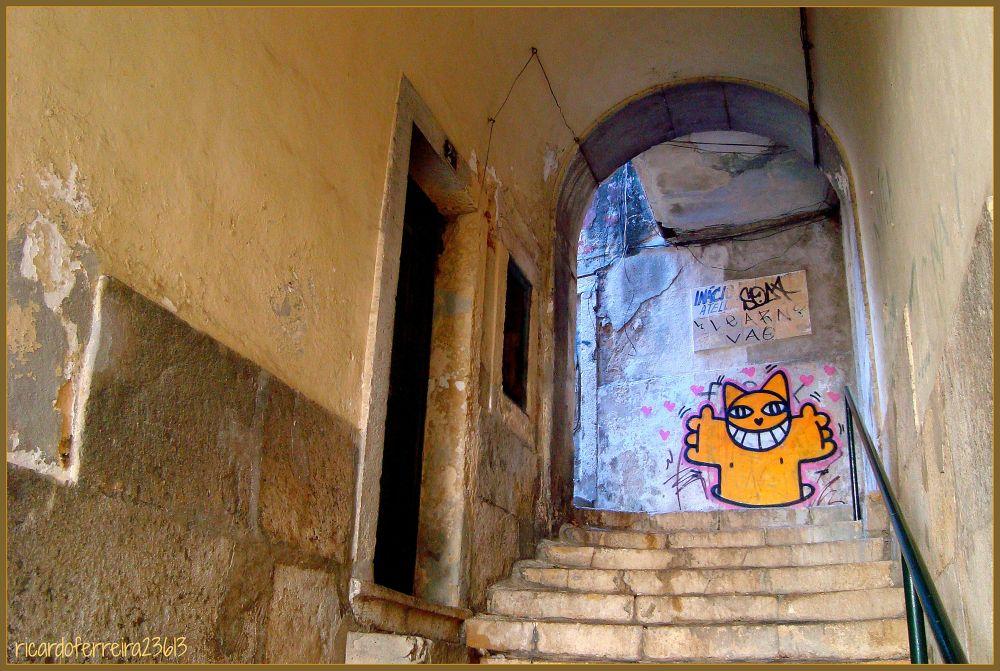 Lisboa, Alfama. by ricardoXPTOferreira