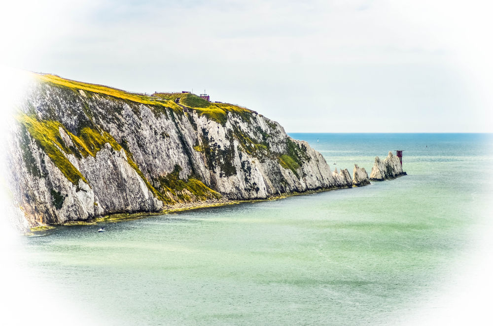 The Needles, Isle Of Wight. by Dean
