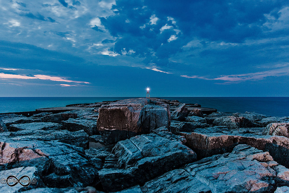 breakwall by midcoastscapes