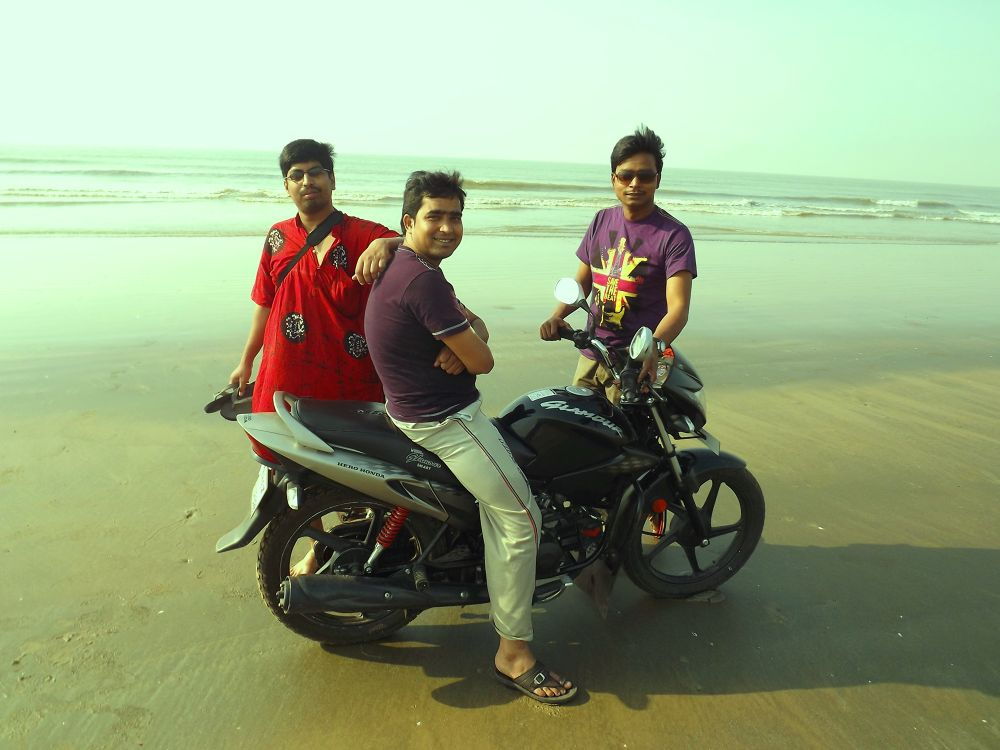 Beach Riding at Mandermoni by sandipanghosh19