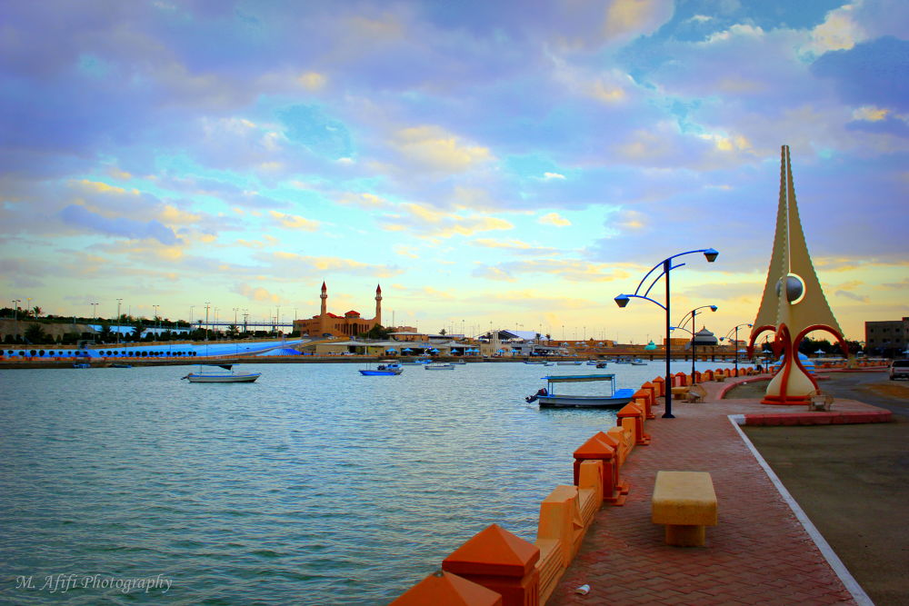 coastal city Duba KSA by M. Afifi