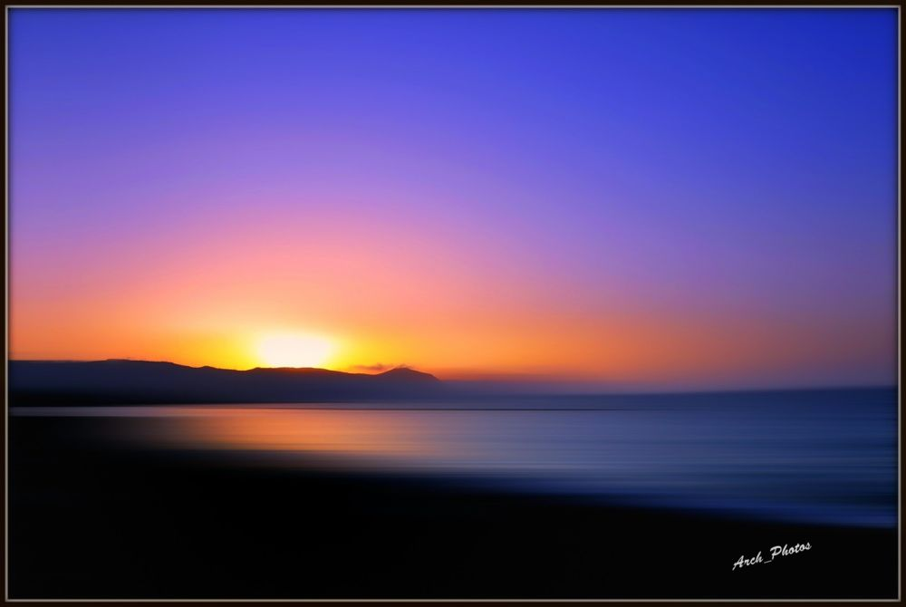Sunset! by Archie Maratheftis
