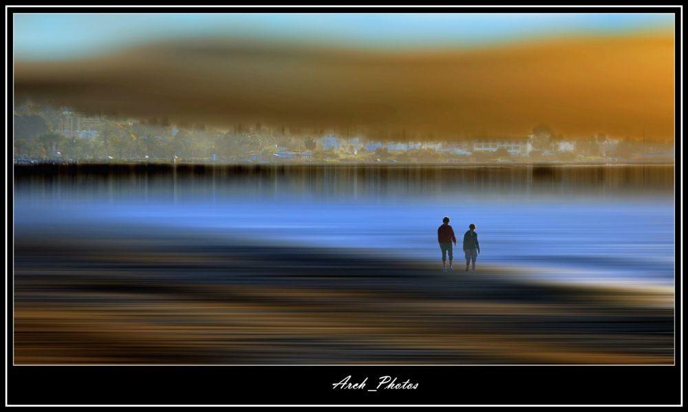 On the Beach! by Archie Maratheftis