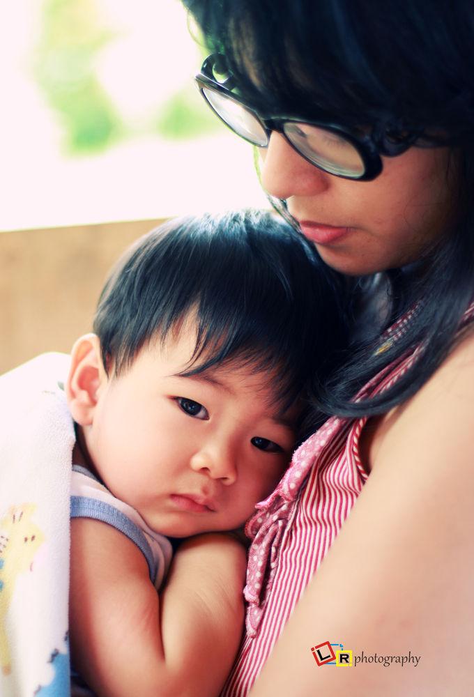 Arkell n Mom by  Ernasto Elmend A