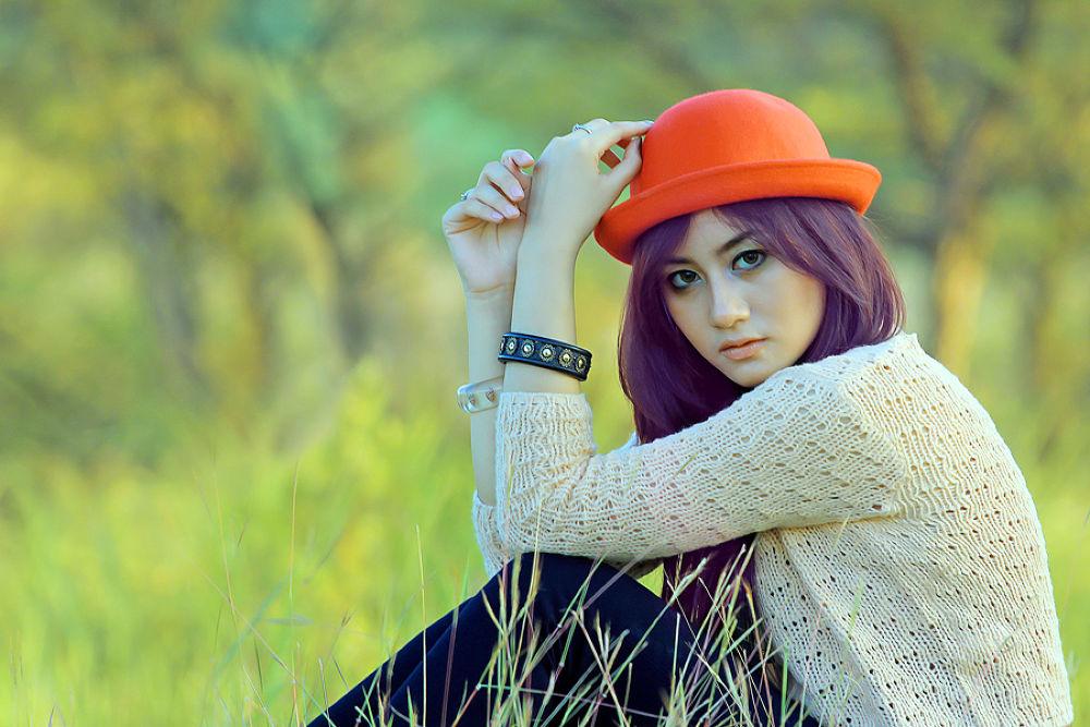 Photo in Portrait #gilr #hat #summer