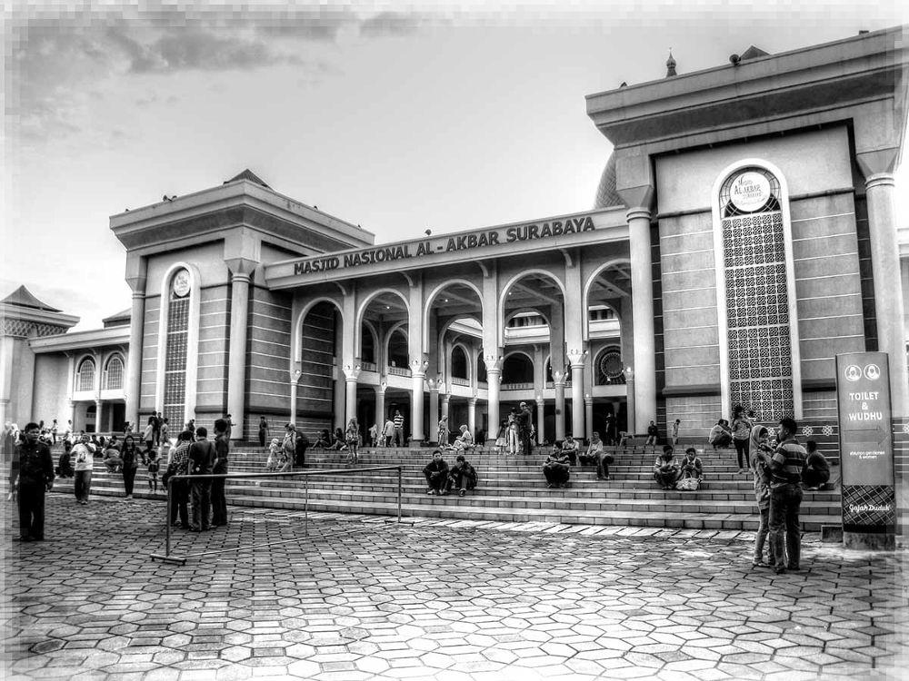 Masjid Al-Akbar | Surabaya - Indonesia | The beauty of Indonesia by maksiparanggi