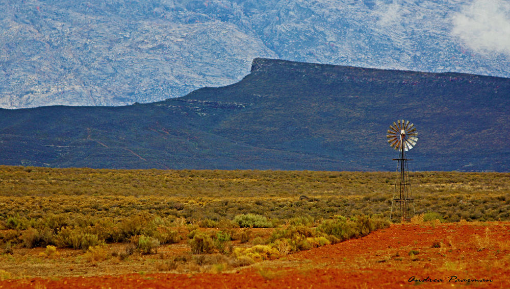karoo the land.... by Andrea Paarman
