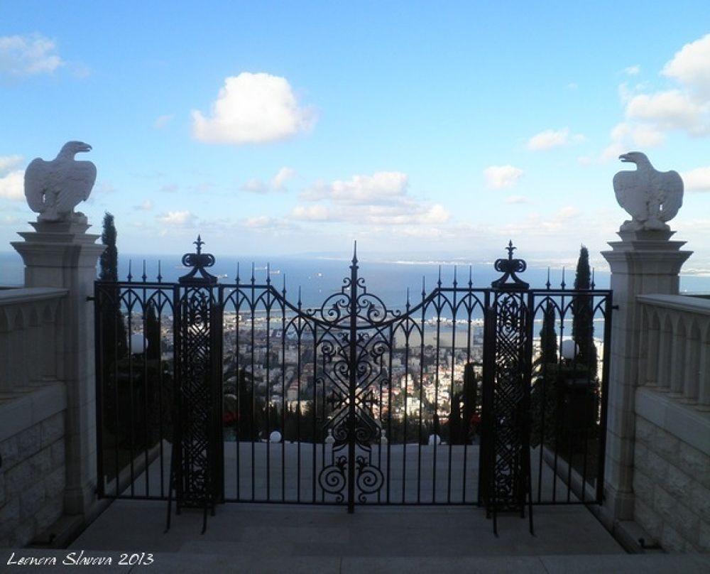 Bahai gardens, Haifa by leonoraslavova