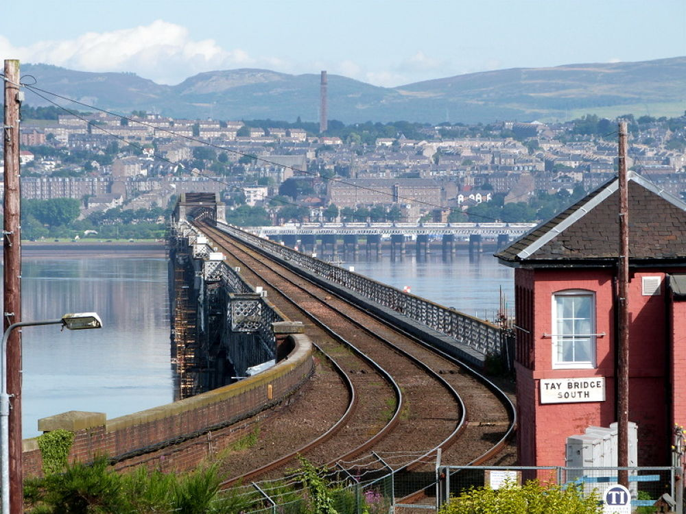 Over the Tay by Bruce Summerton