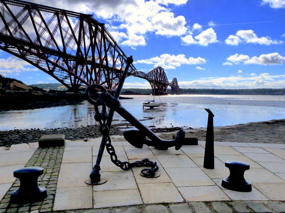 Forth Rail Bridge  by Bruce Summerton