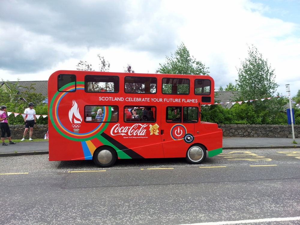 Wee bus  by Bruce Summerton