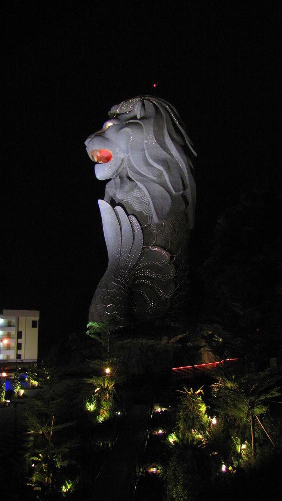 Singapore Lion by rajib saha