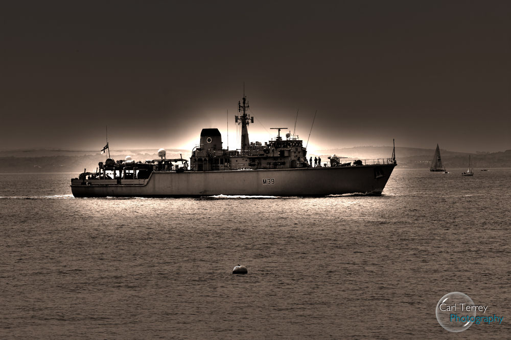 HDR Warship by MagicKipper