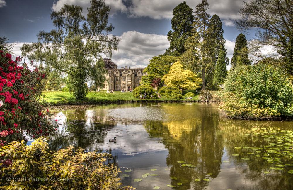 Mansion Pond, Wakehurst Place.jpg by DigitalSussex