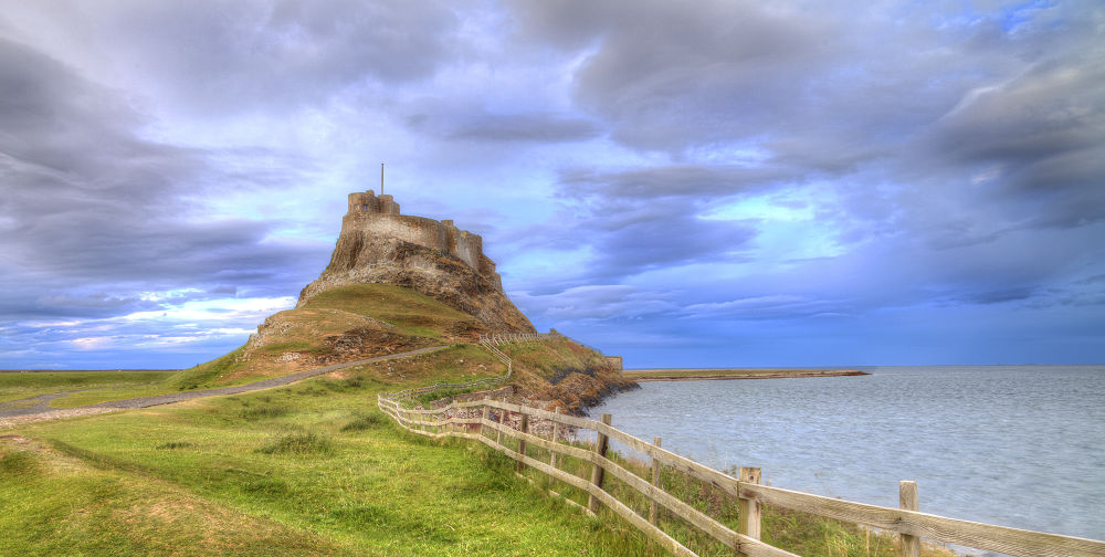 Lindisfarne Castle by TJPhotography