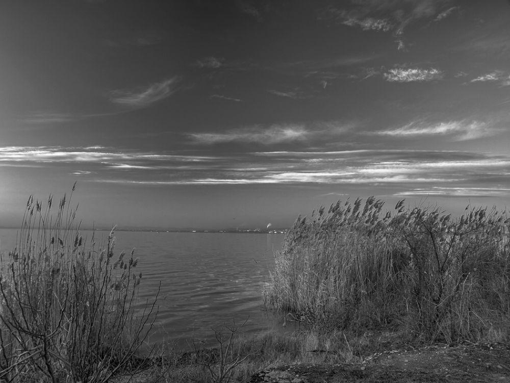Vaja lake - B&W... by hristofortashev