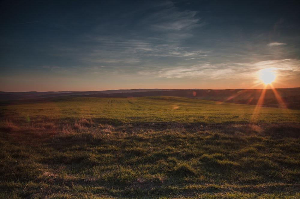 Sunset over Thrace... by hristofortashev