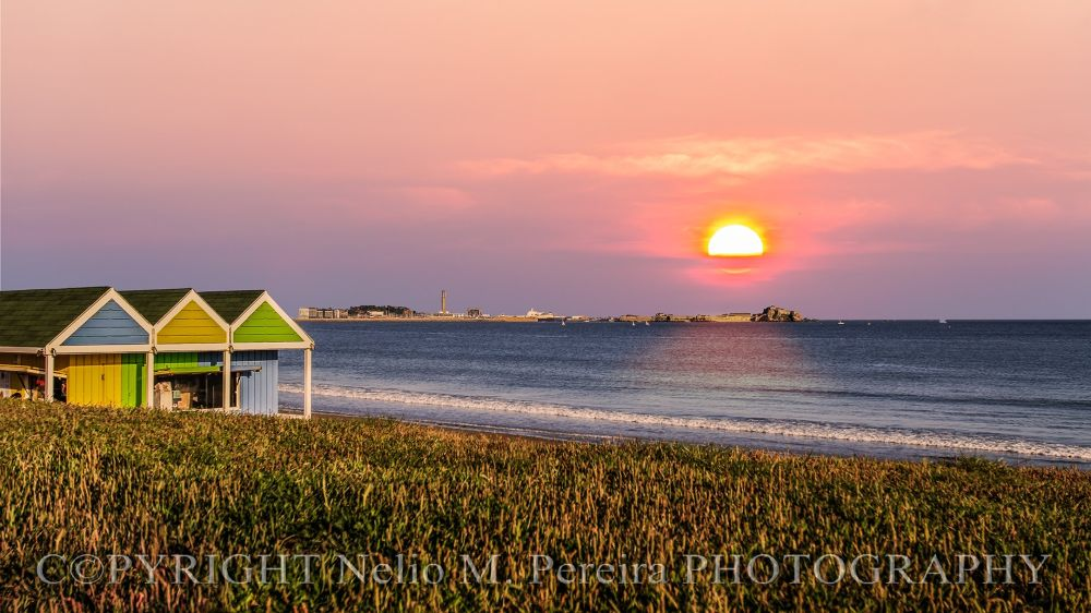 Sunrise at the shack by NelioPereiraPHOTOGRAPHY