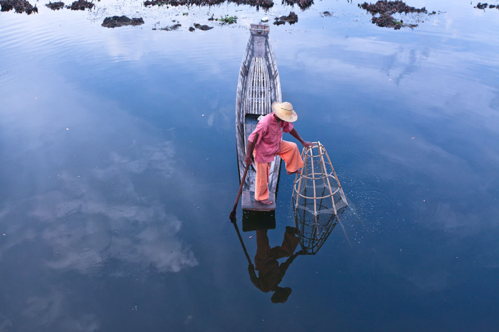 Inle Fisherman by perakman
