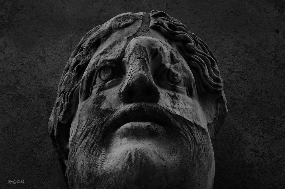 Rome - Statue Portrait by zlatanklaric